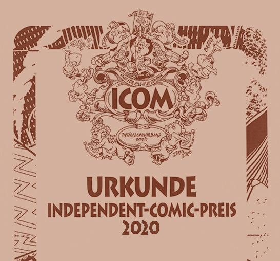 ICOM Independent Comic Preis